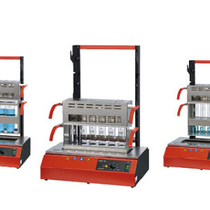 InKjel M series rapid digestion system with manual energy control