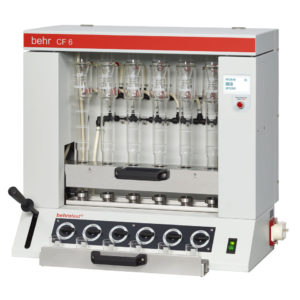 behrotest® CF 6 Semi-automatic Crude Fibre Extraction Unit